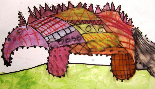 Dahl Monsters by maureencrosbie, via Flickr