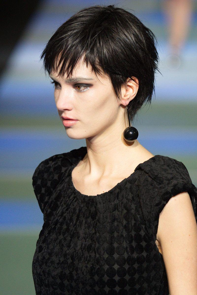 El pelo corto es el nuevo sexy bangs favors and short hair