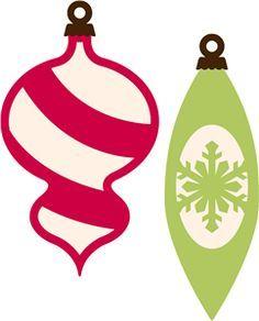 Vintage Christmas Ornament Shapes Google Search Christmas Ornament Template Christmas Ornaments Vintage Christmas Ornaments