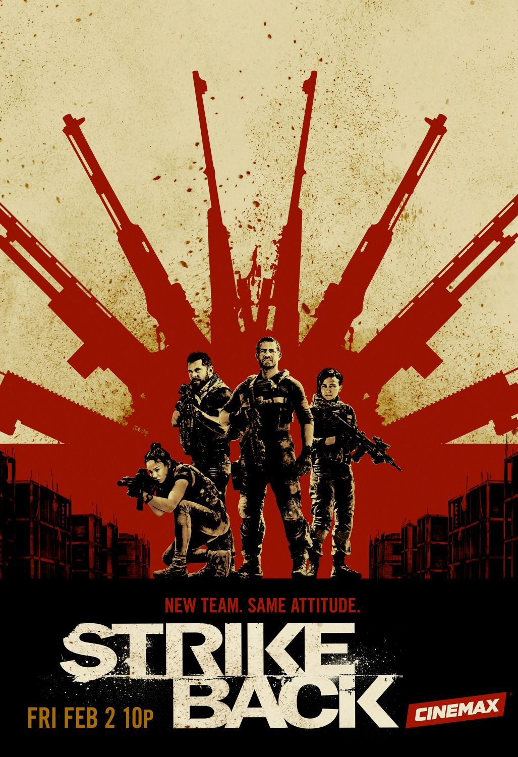 Strike Back Rebooted New Season Trailers Featurette Images And