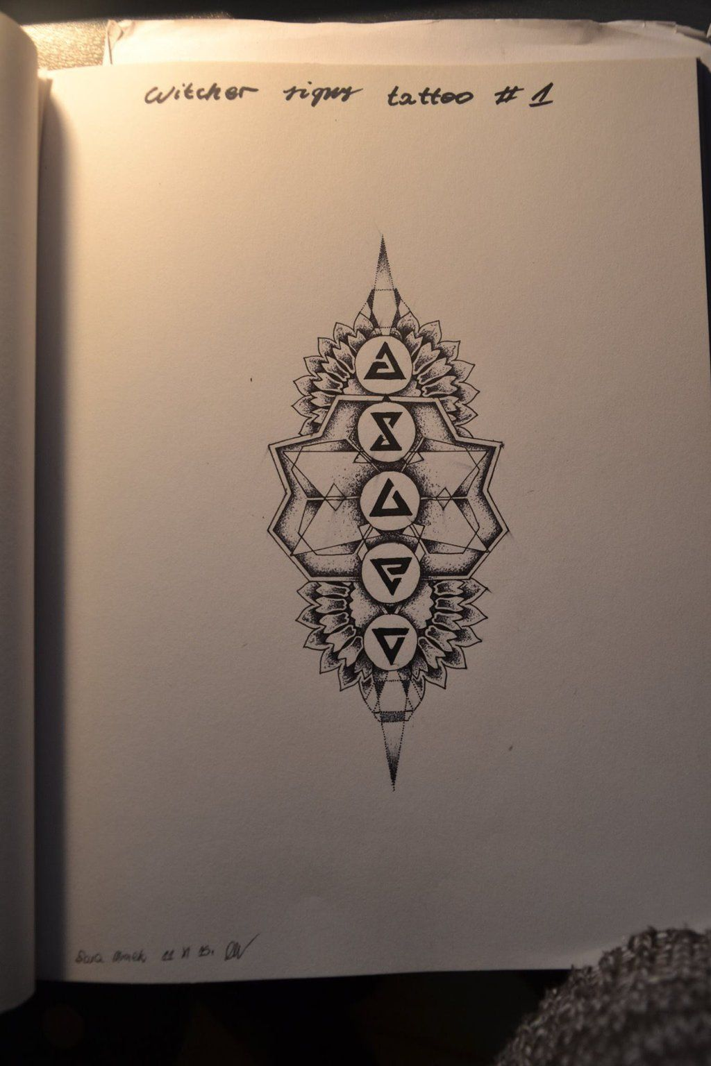 Witcher 3 Signs Tattoo By S Truchlo Pinte Circuitry Brujo On Deviantart Bigdave409 More