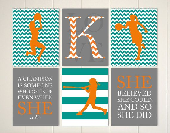 Quotes About Sports Motivational Sports Quotes Art Girls Basketball Art Softball Wall .