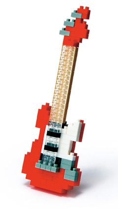 Red Electric Guitar Red Electric Guitar Electric Guitar Electricity