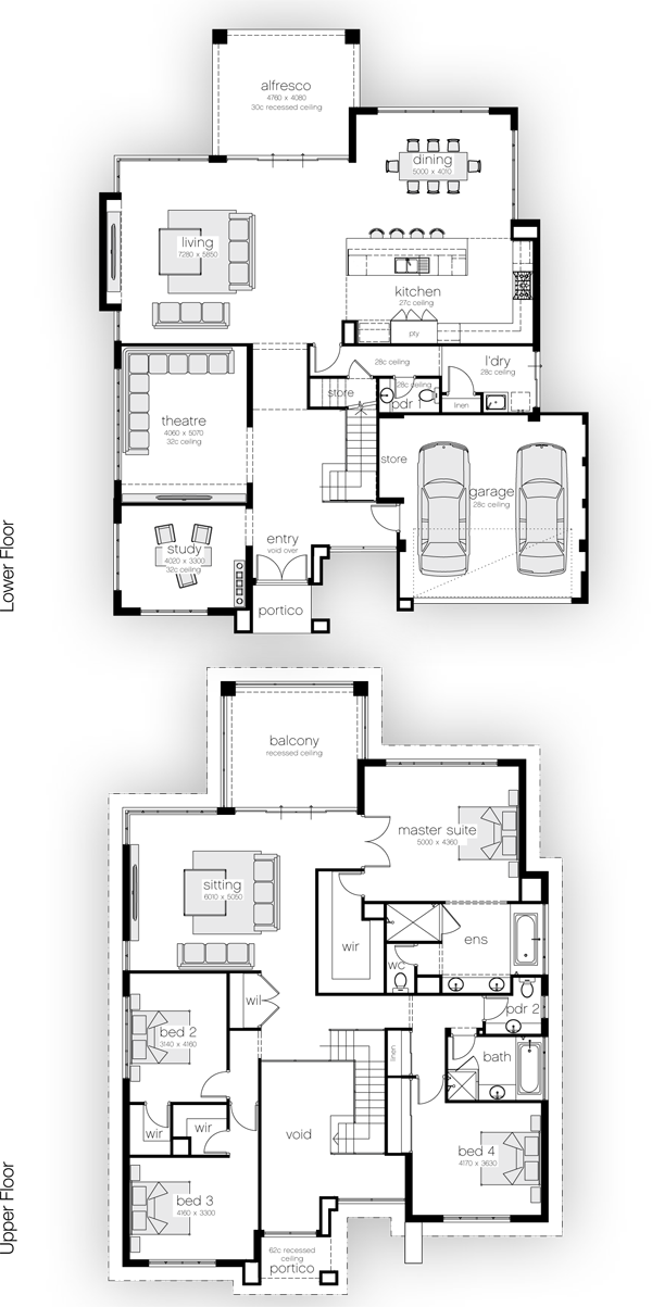 When I Was A Kid I Used Draw House Plans Like This Why Didn T I Become An Architect House Plans 2 Storey House Layouts House Floor Plans