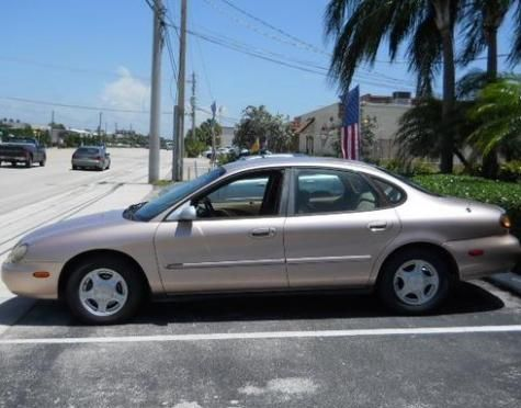 1997 Ford Taurus Gl Sedan Under 2000 In Florida Cheap Cars For