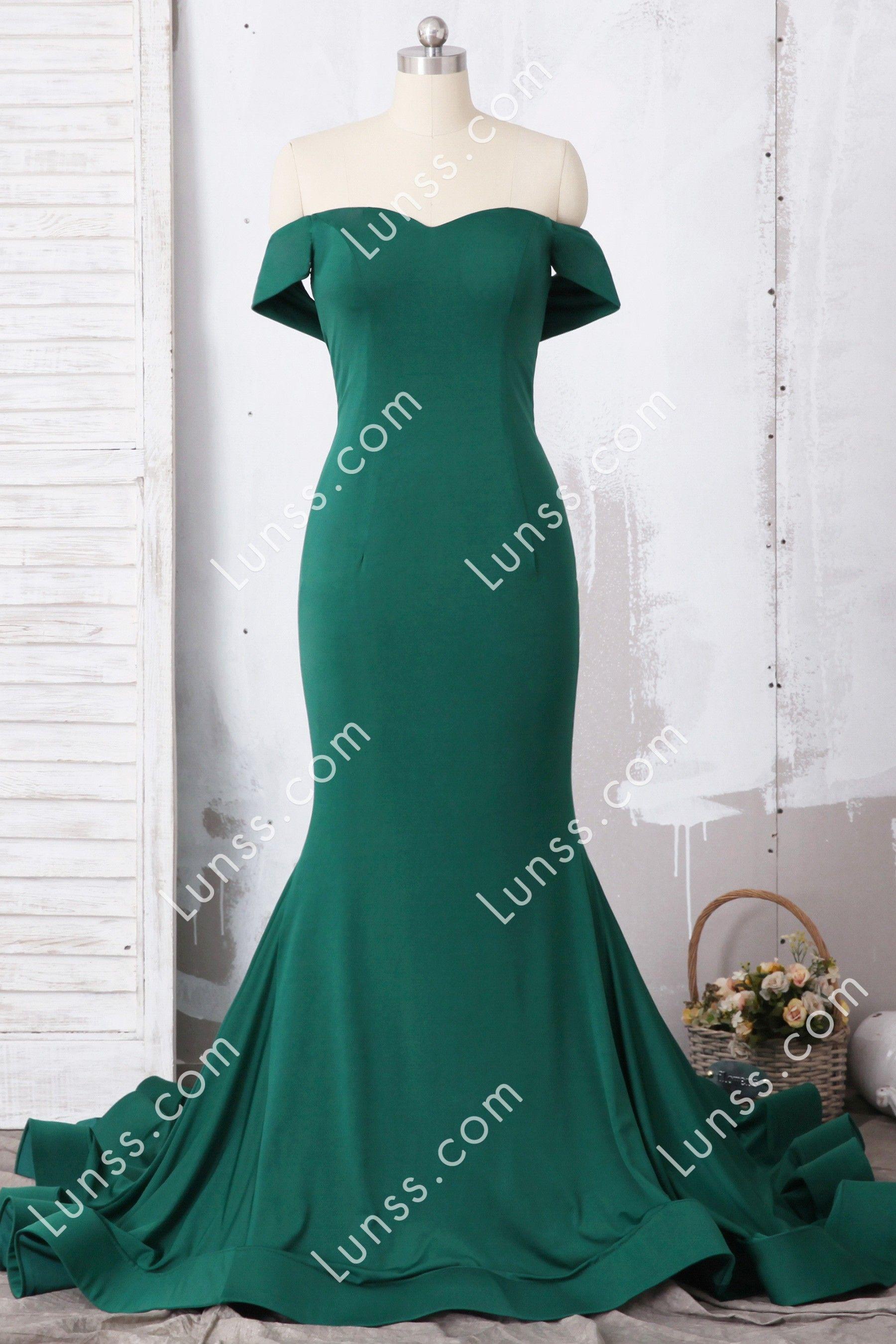 Custom Emerald Off The Shoulder Mermaid Prom Dress Green Prom Dress Emerald Green Prom Dress Mermaid Prom Dresses [ 2700 x 1800 Pixel ]