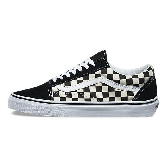 primary check old skool vans f63862778