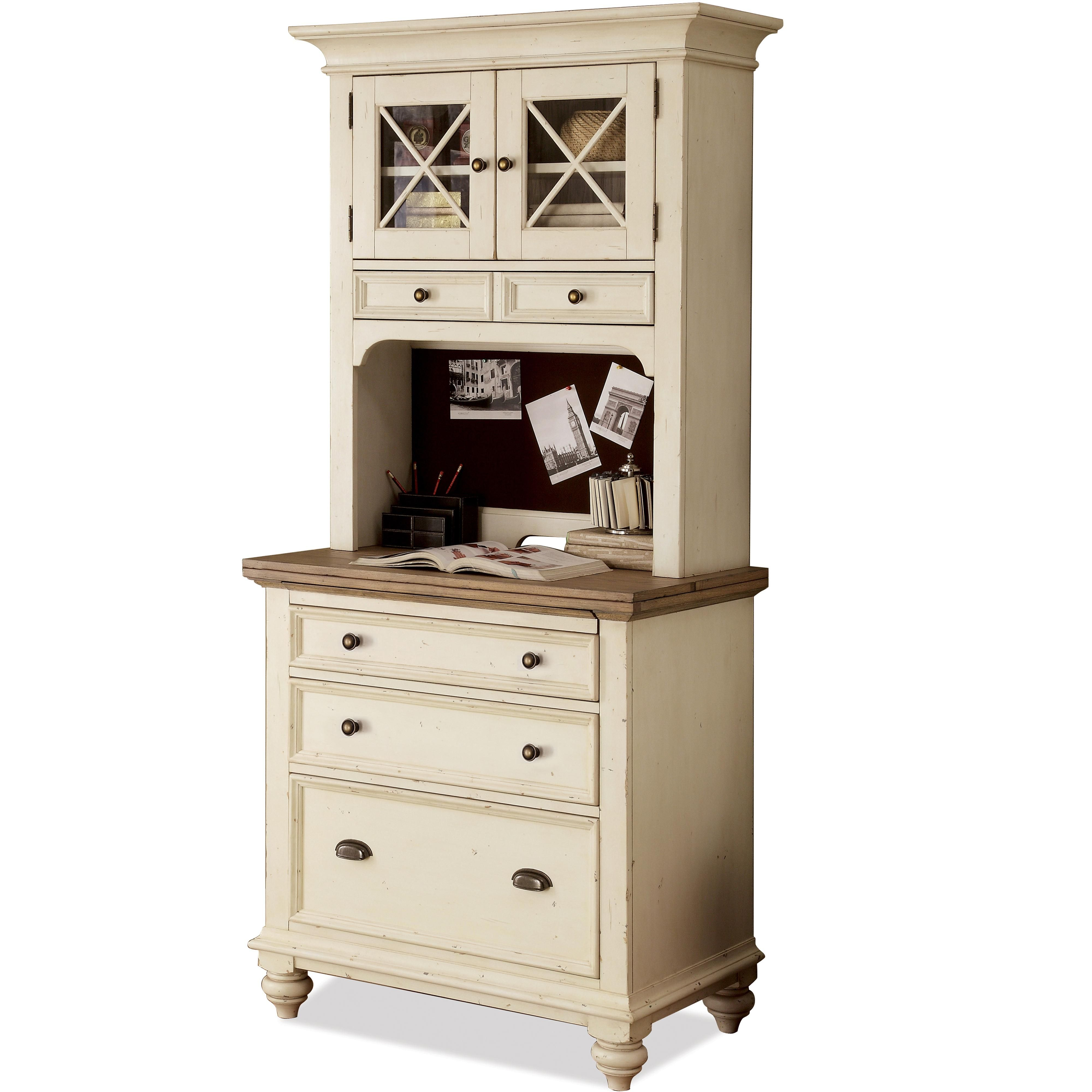 Coventry Two Tone Personal Workstation By Riverside Furniture