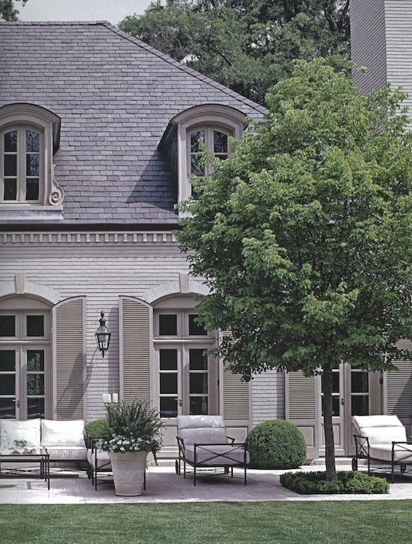 Captivating French Influence Interior Exterior, Exterior Design, French Exterior,  Exterior Shutters, Interior Paint
