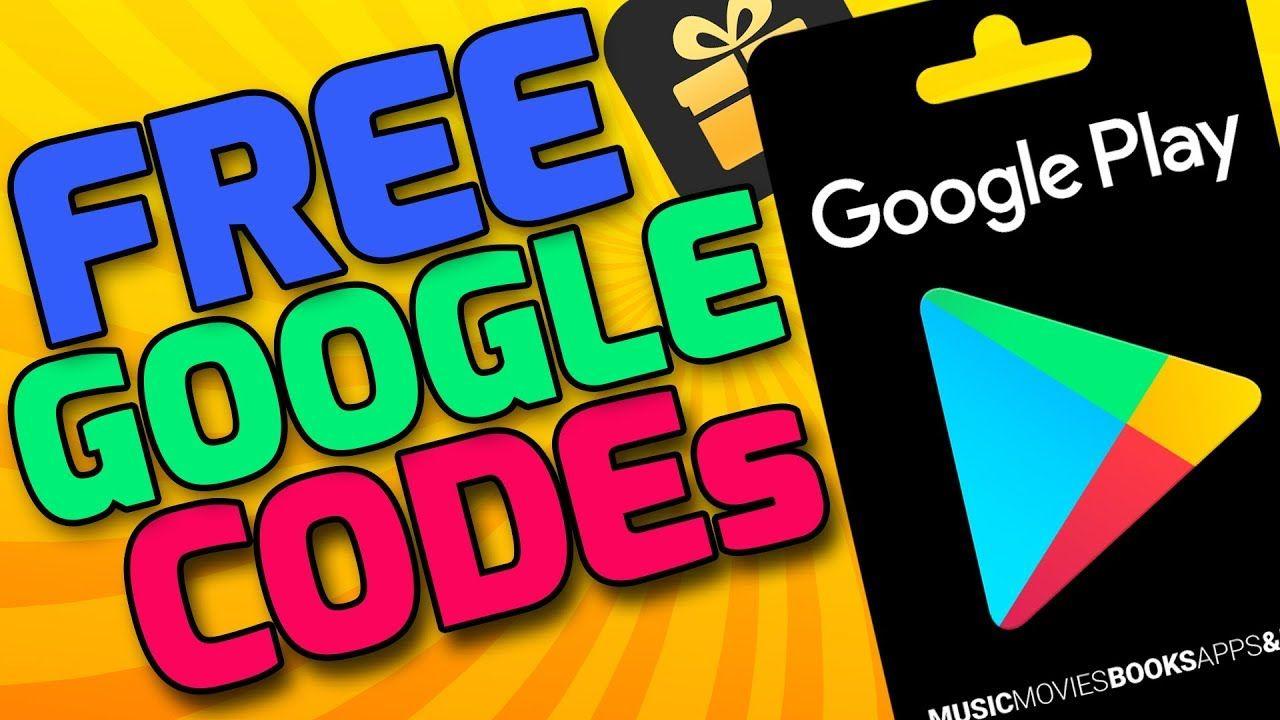 Free google play codes google play gift card codes