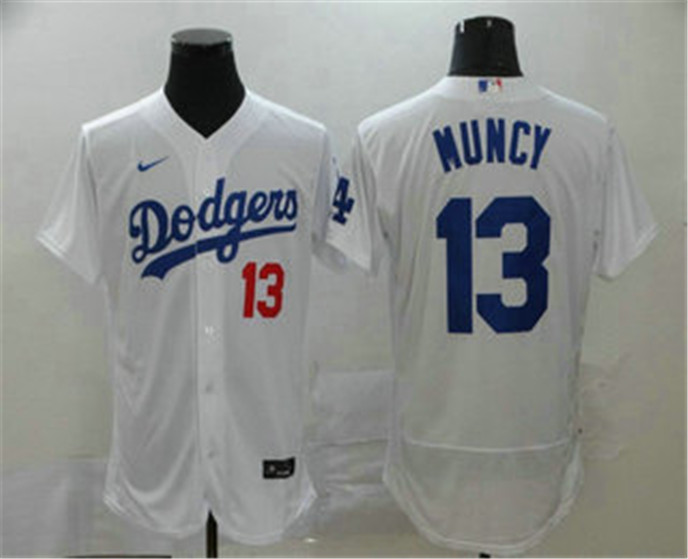 2020 Los Angeles Dodgers 13 Max Muncy White Stitched Mlb Flex Base Nike Jersey In 2020 Los Angeles Dodgers Dodgers Dodgers Jerseys