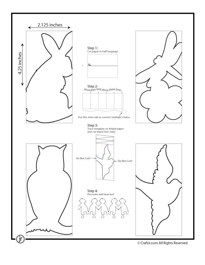 Free Paper Cut Out Animals | Professional Standards Councils
