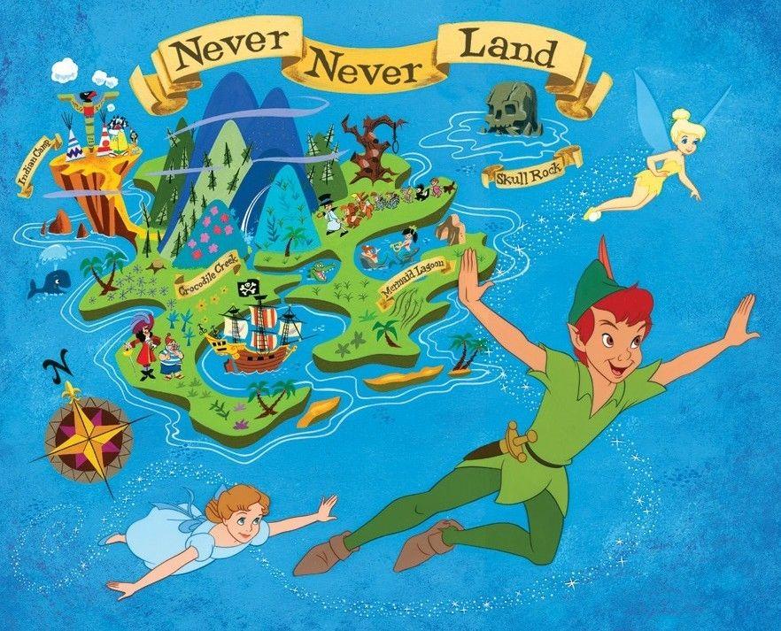 Disney Peter Pan Wendy | bueno, tal vez el bueno de Peter Pan me enseñe también a mí a ...
