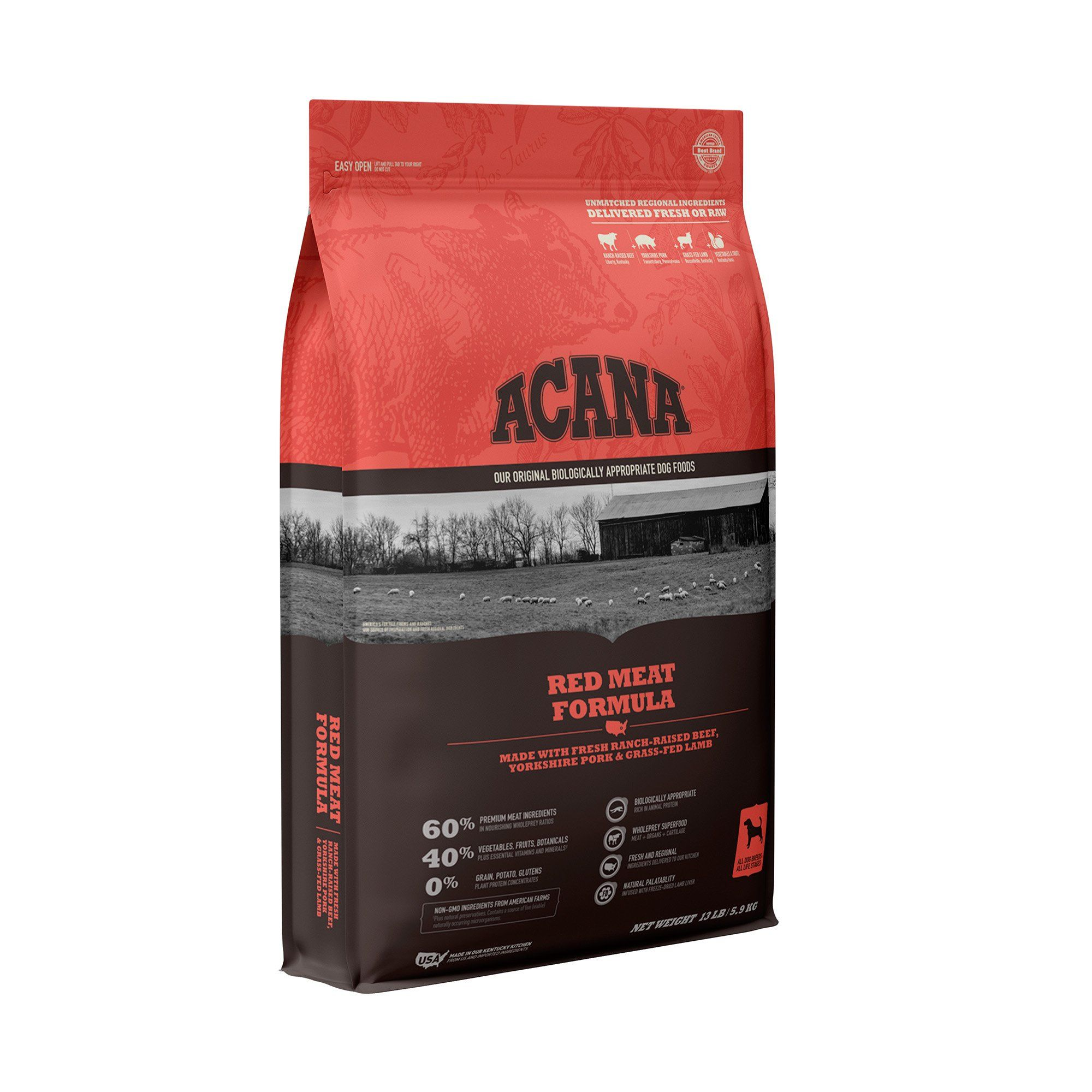 Acana Red Meat Dry Dog Food 13 Lbs Products In 2019 Dog Food