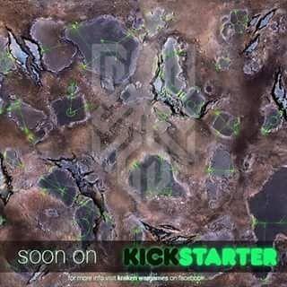 Krakenwargames On Instagram The Kraken Mat On Kickstarter In Next Few Days Kickstarter Kraken Warhammer40k Wargaming Wargaming Kickstarter Instagram
