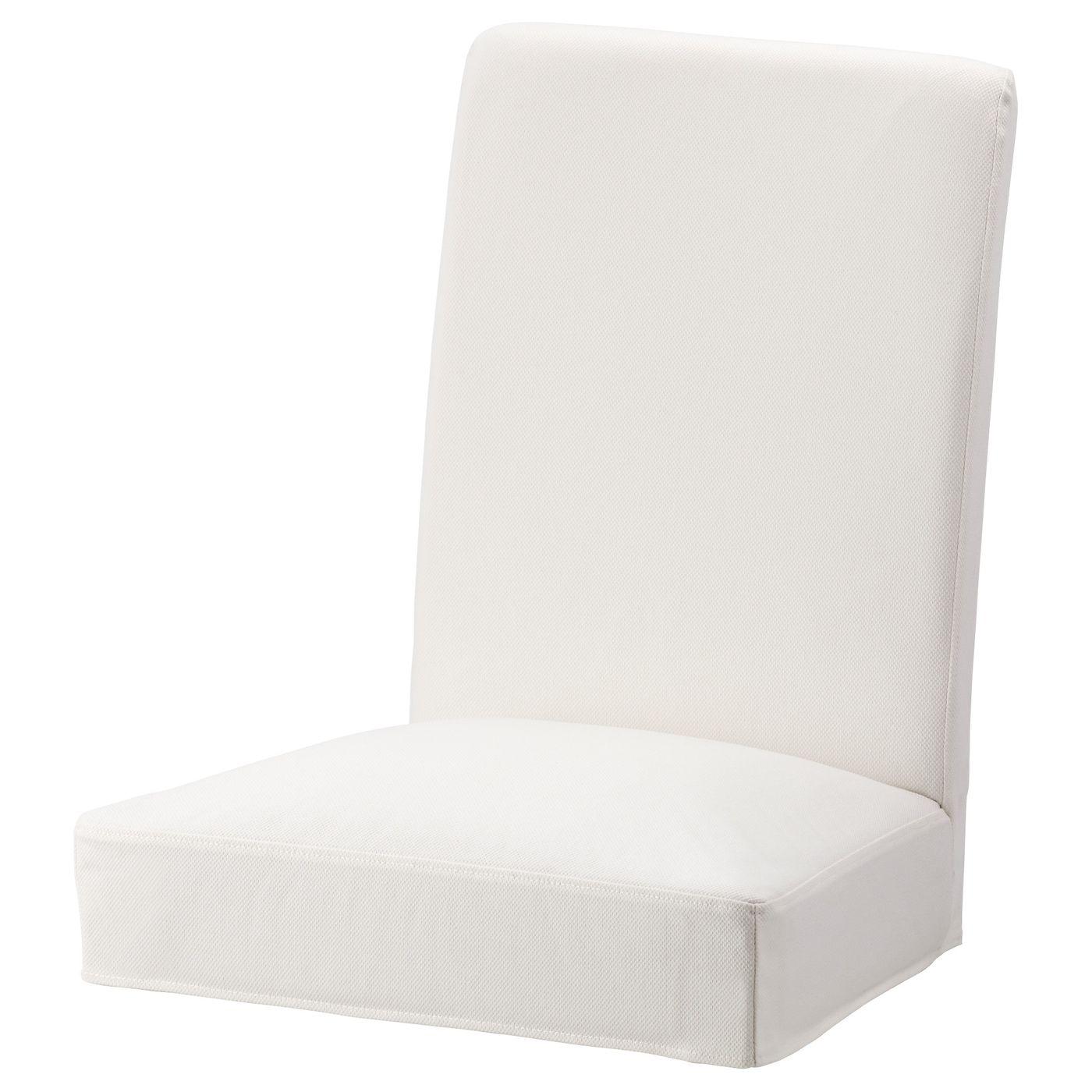 IKEA HENRIKSDAL Gräsbo White Chair cover Henriksdal