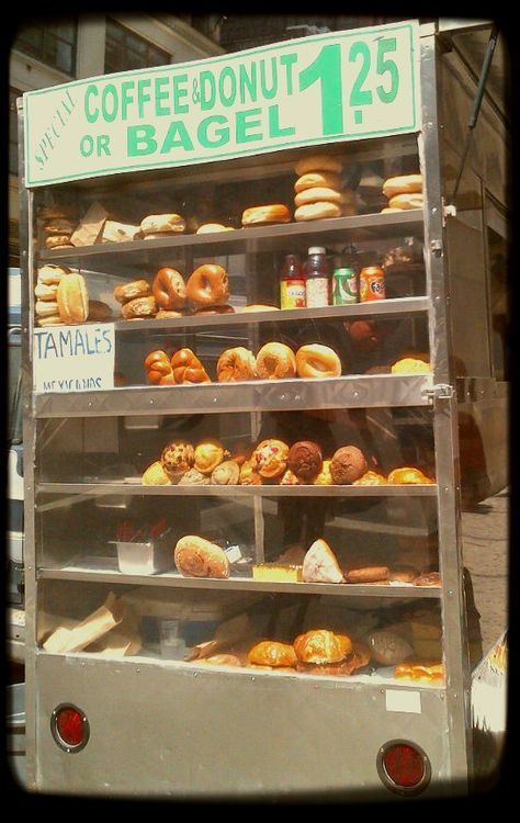 Bagel Stands in Nyc