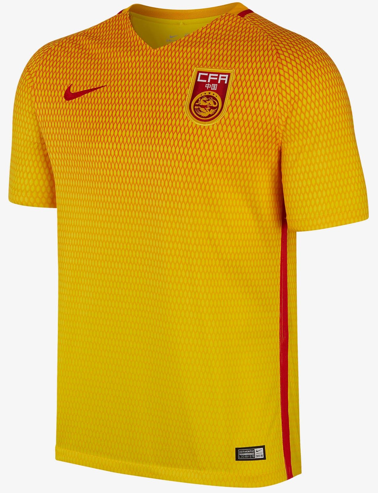 100% top quality look out for best sneakers The new Nike China 2016 Home and Away Kits boast outstanding ...