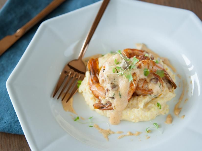 Photo of Shrimp and Smoked Grits with Tasso Gravy