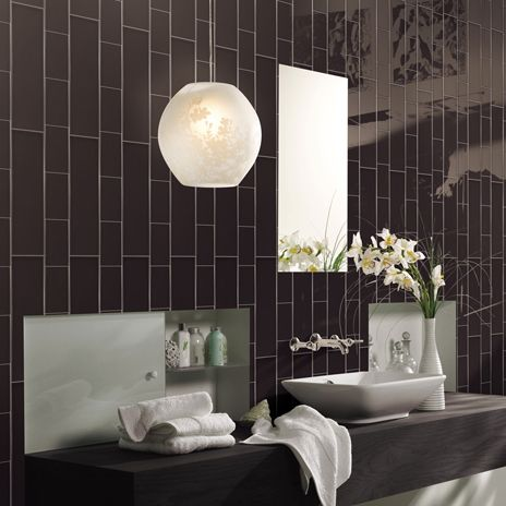 Gorgeous Layout For Subway Tile In This Bathroom H Line Café From Arizonatile