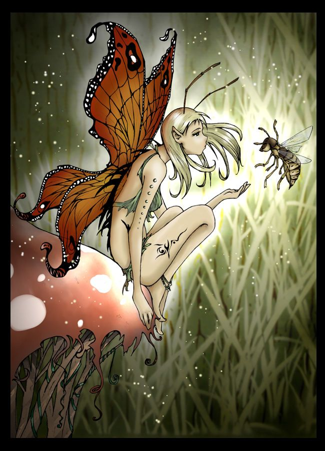Talking to Bees by ~Rozefire on deviantART