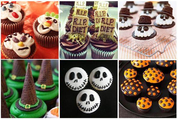 halloween easy to makedecorate cupcakes