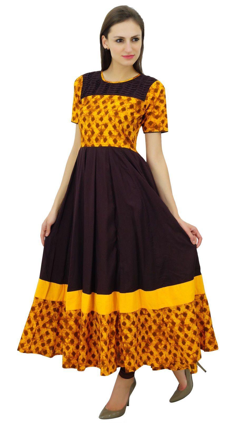 Polka dot maxi dress india