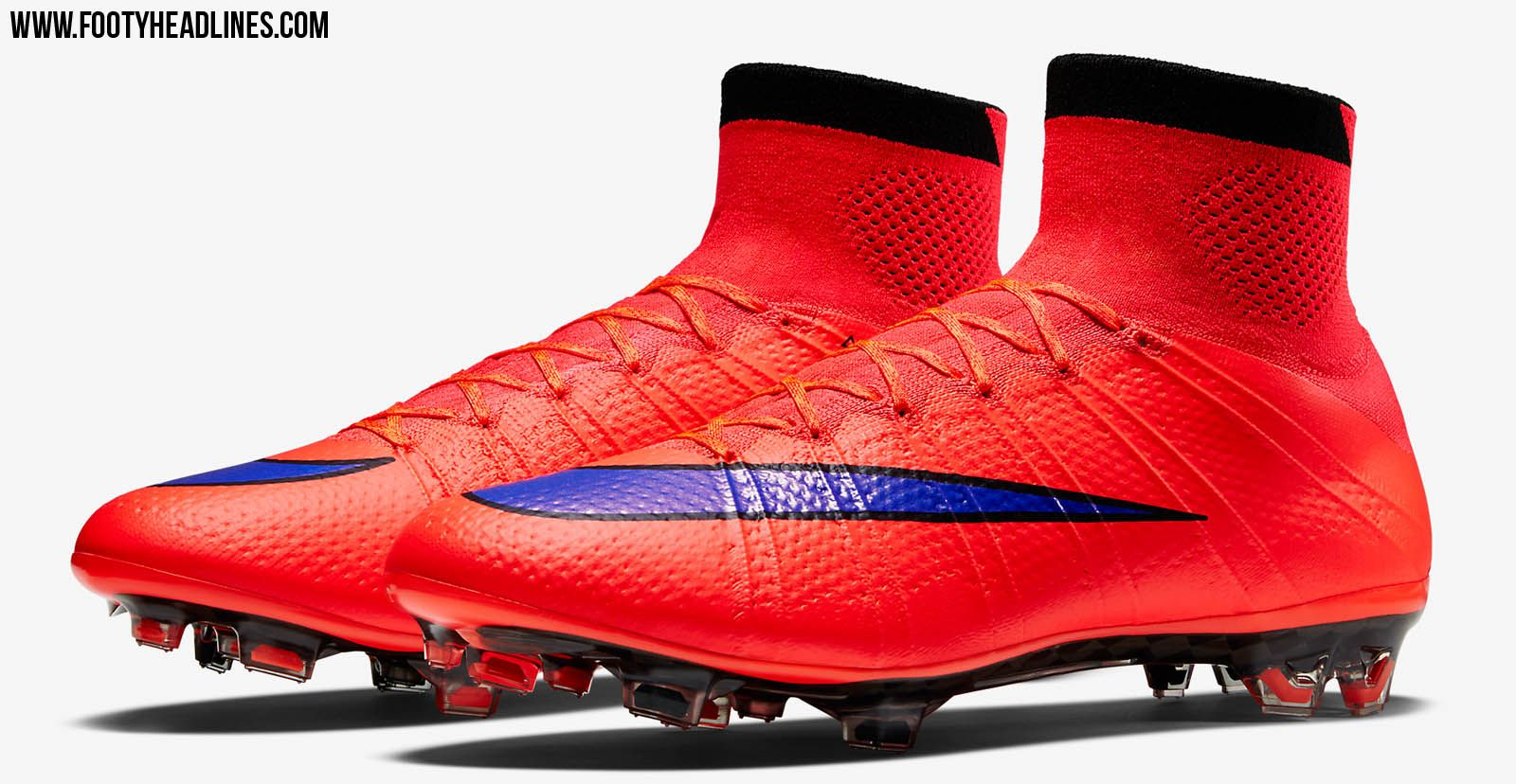 The new red Nike Mercurial Superfly 2015 Intense Heat Pack Football Boots  introduce a striking design. For the second Nike Mercurial Superfly 2015  Cleat ...