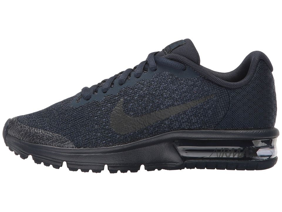 Nike Kids Air Max Sequent 2 (Big Kid) Boys schuhe Obsidian