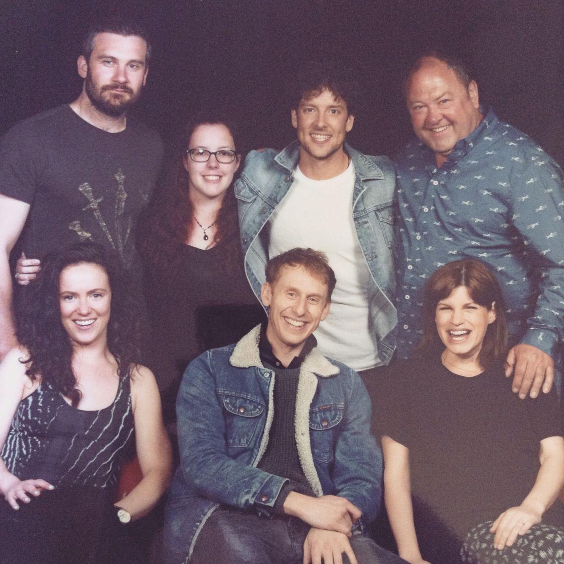 I met the cast of Atlantis!!!