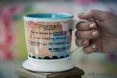 Kelly Rae Roberts Mug-Sister