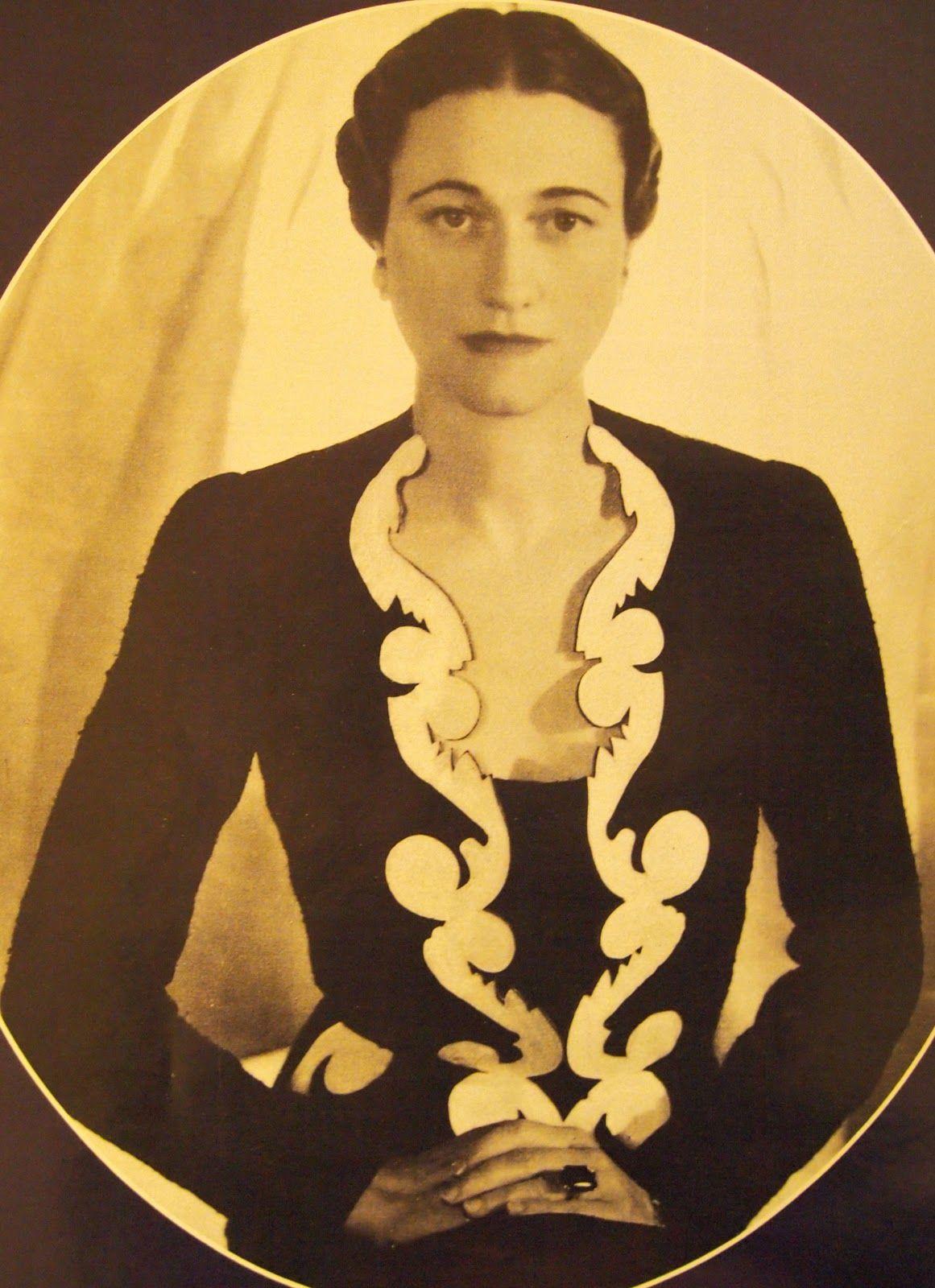 Wallis simpson wedding dress  Wallis Simpson  a woman of seduction scandal I like the outfit
