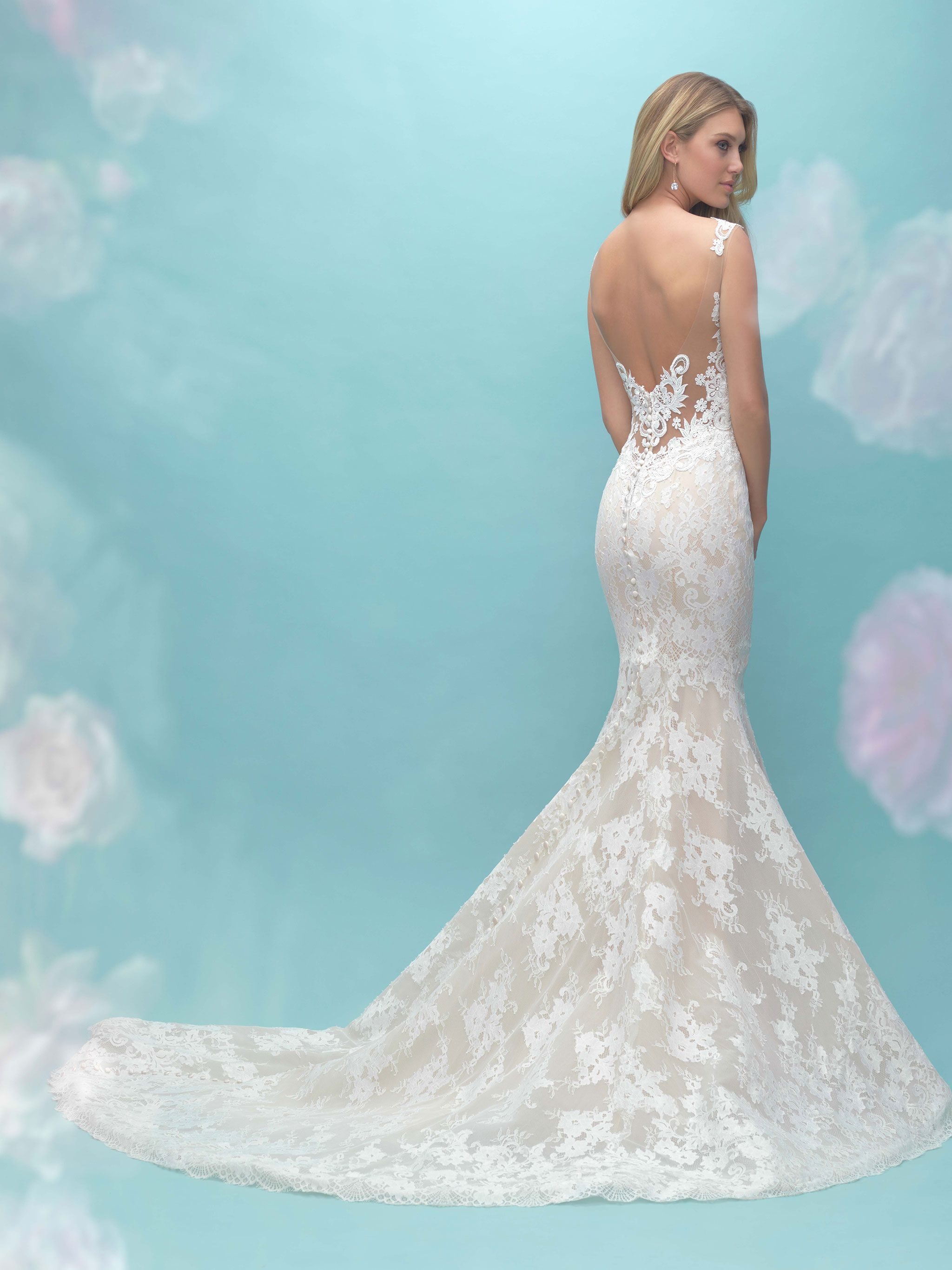 Highlight the texture of our unique lace in this simple sleeveless ...