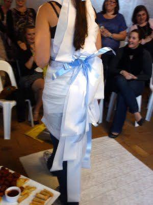 tissue paper wedding dress game