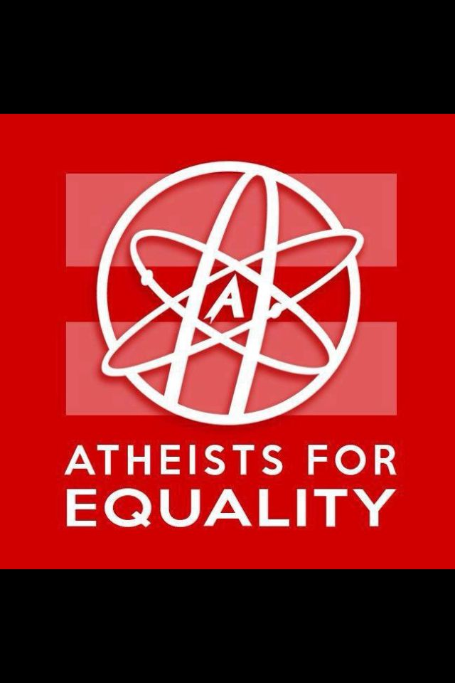 A for = #atheism #equality