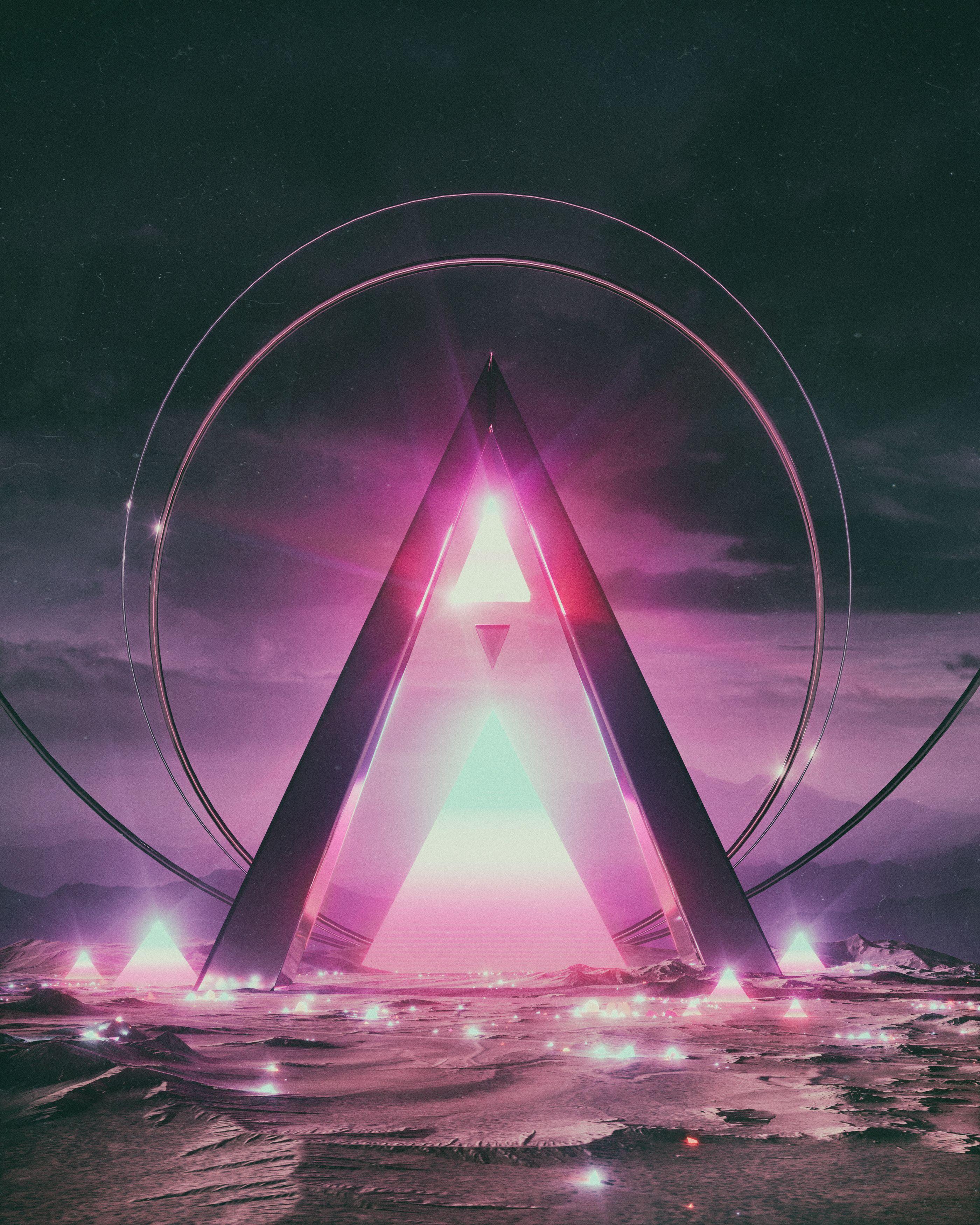Behance 为您呈现 Vaporwave art, Art, Sci fi concept art
