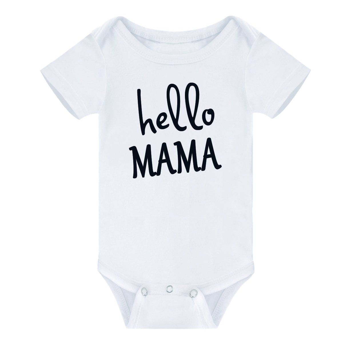 Baby Clothing T-Shirt,Newborn Infant Baby Boys Girls Letter Print Romper Jumpsuit Outfits Clothes T-Shirt