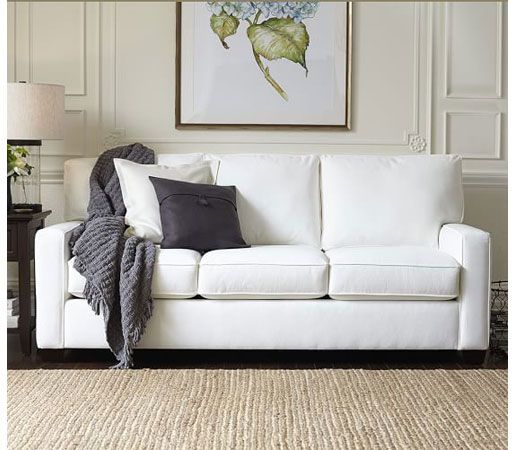 Pottery Barn Buchanan Square Arm Upholstered Sofa By