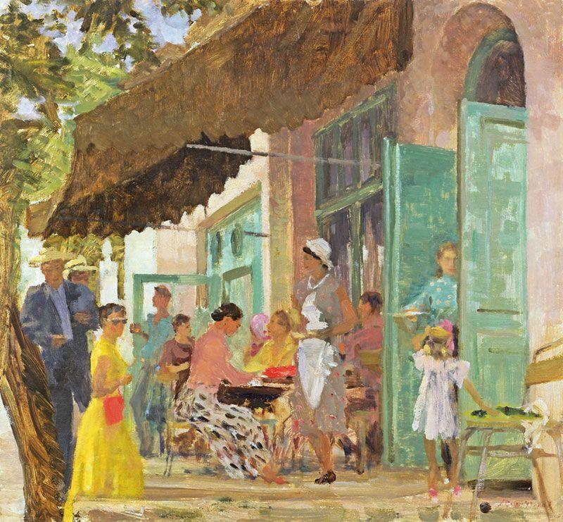 """«Cafe """"Gurzuf""""». 1956"""