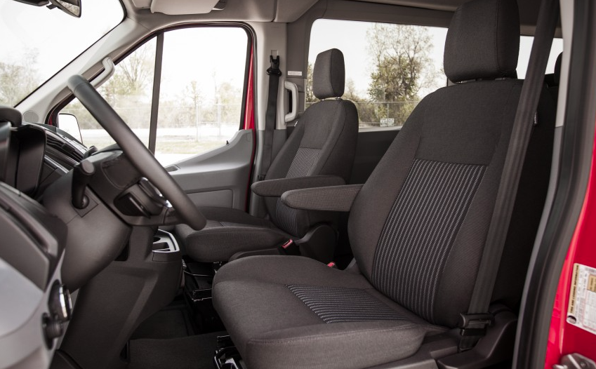 Interior Front Seat Ford Transit Wagon Xlt Ford Transit Wagon