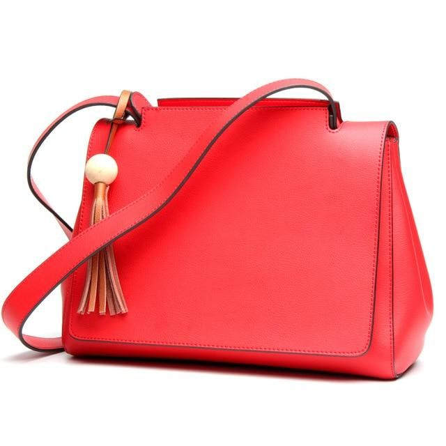 Ox Blood Brown Black Red Designer Luxury Leather Ladies Hand Bag - High  Street Whistles 3fed1c310d