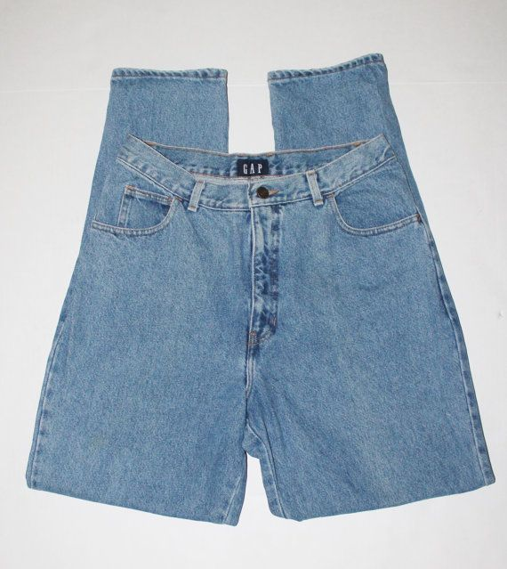 Womens GAP High Waist Jeans Light Wash Vintage Size by SoKookie, $25.00