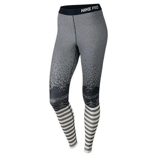 8e8c91043 Women s Nike Pro Hyperwarm Engineered Print Tights