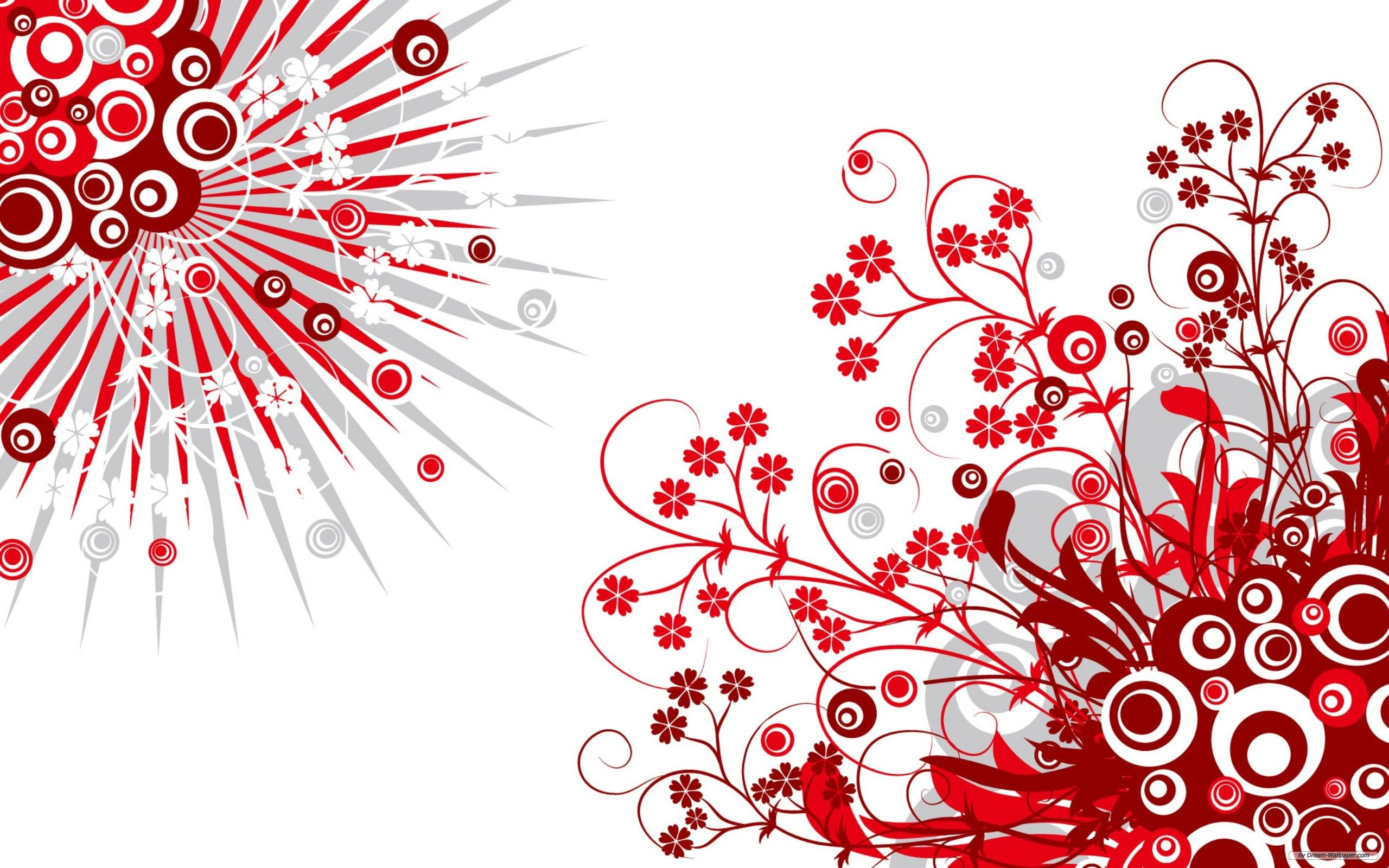 Red And White Backgrounds Red And White Wallpaper White Background Hd Red Wallpaper
