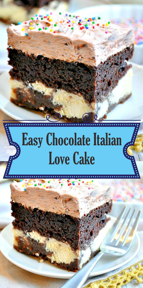 Easy Chocolate Italian Love Cake  Best easy cooking  Best easy cooking is part of Italian love cake -