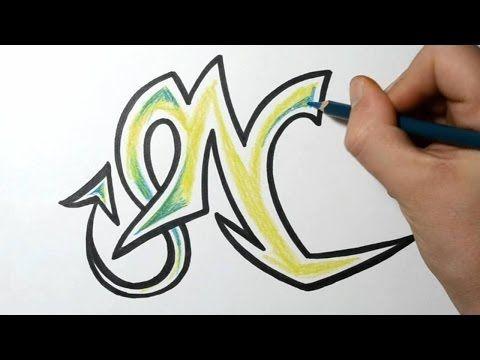 How to Draw Wild Graffiti Letters  N  Graffiti Art  Pinterest