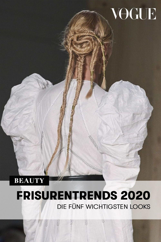 Frisurentrends 2020 Die Funf Wichtigsten Looks In 2020 Frisurentrends Frisuren Trend Frisuren