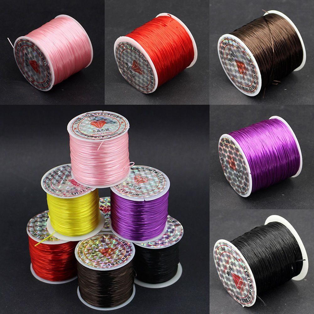 Waxed Cotton Cord 3mm 4mm DIY Necklace Jewelry Making Thread String Beading