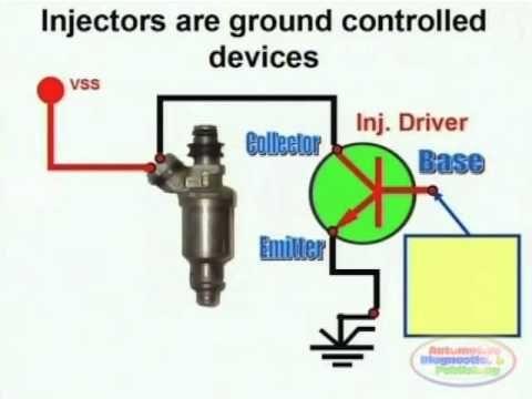 Injector Circuit Wiring Diagram Map Sensor Electrical Wiring Diagram Circuit