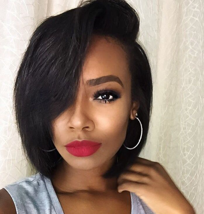 Tamiastyles Makeup Neck Length Hair Wig Hairstyles Short Hair Styles